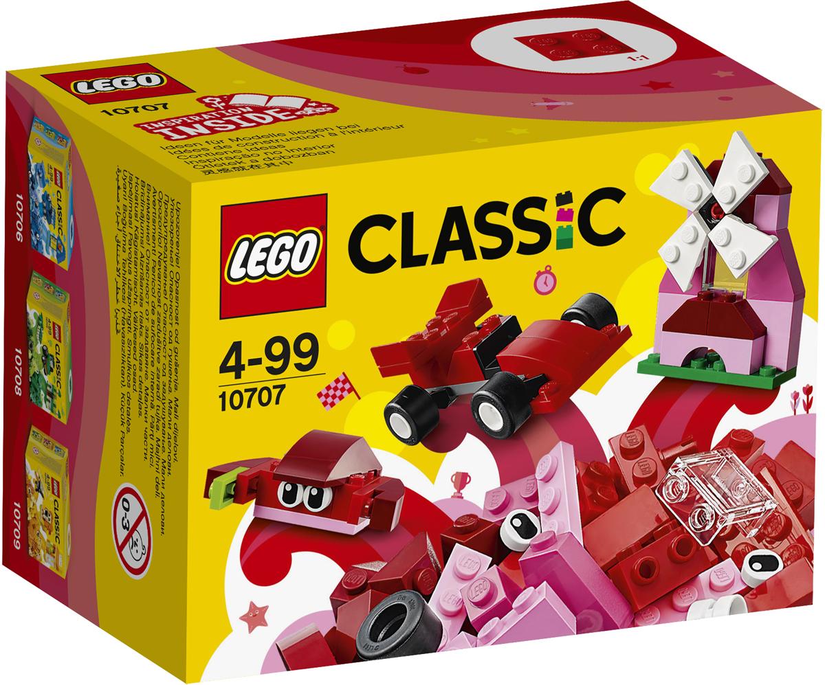 LEGO Classic Конструктор Красный набор для творчества 10707 lego classic конструктор дополнение к набору для творчества яркие цвета 10693
