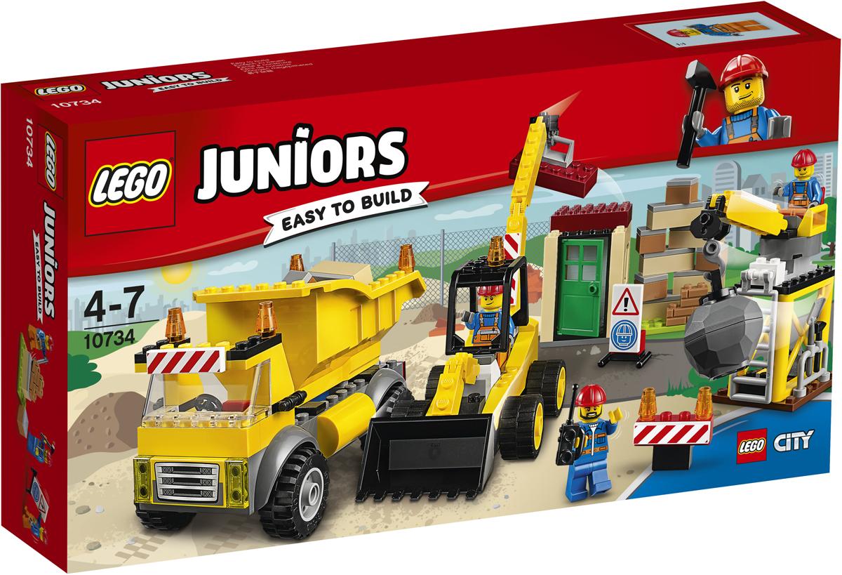 LEGO Juniors Конструктор Стройплощадка 10734 рации