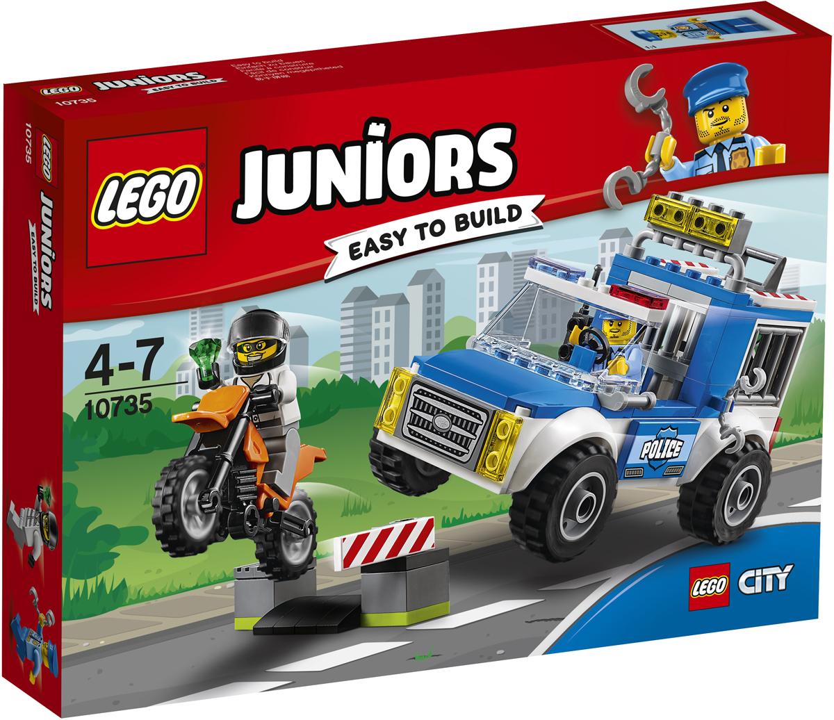 LEGO Juniors Конструктор Погоня на полицейском грузовике 10735 конструктор lego juniors погоня на полицейском вертолёте 10720