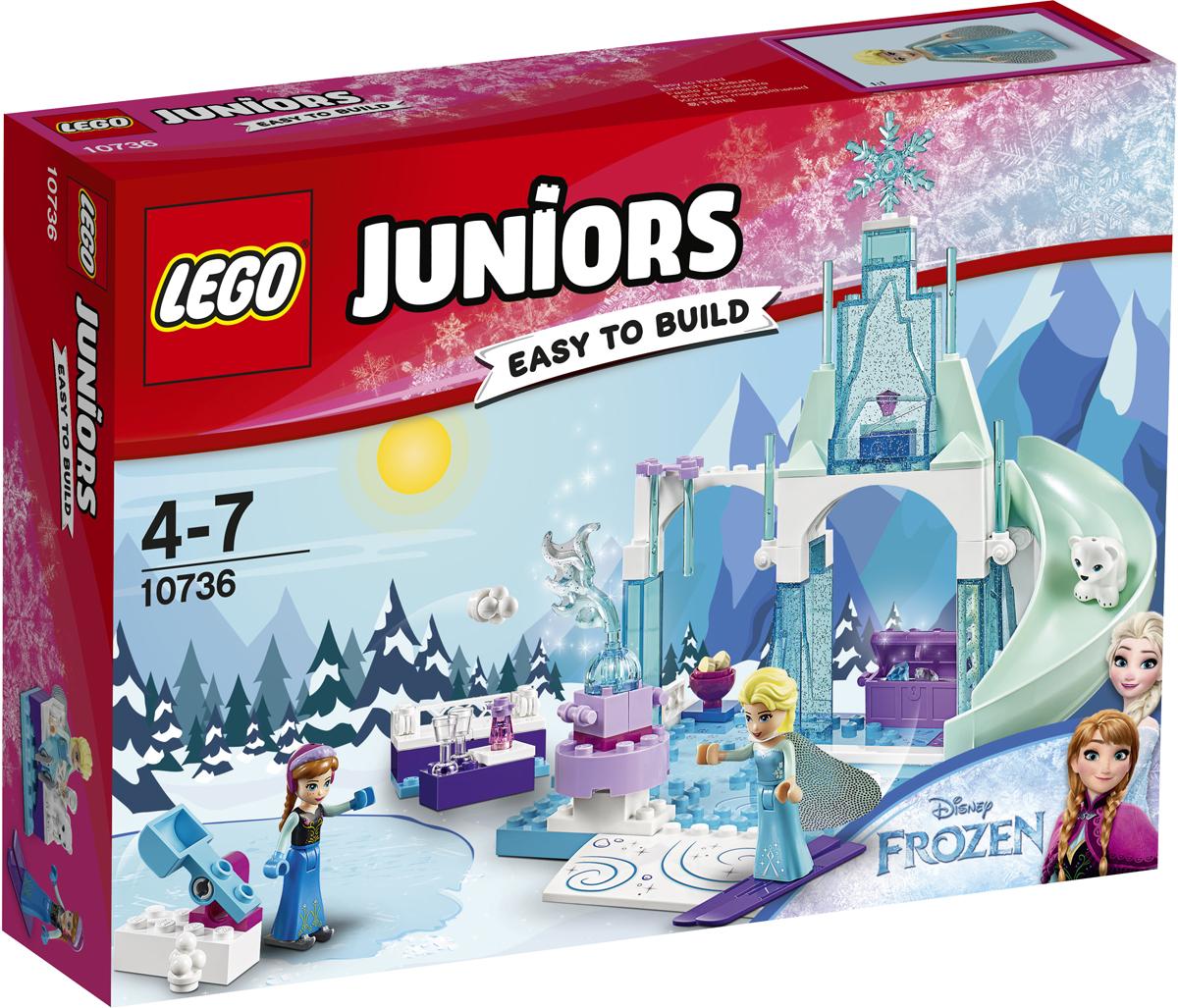 LEGO Juniors Конструктор Игровая площадка Эльзы и Анны 10736 конструктор lego juniors ветеринарная клиника мии 10728