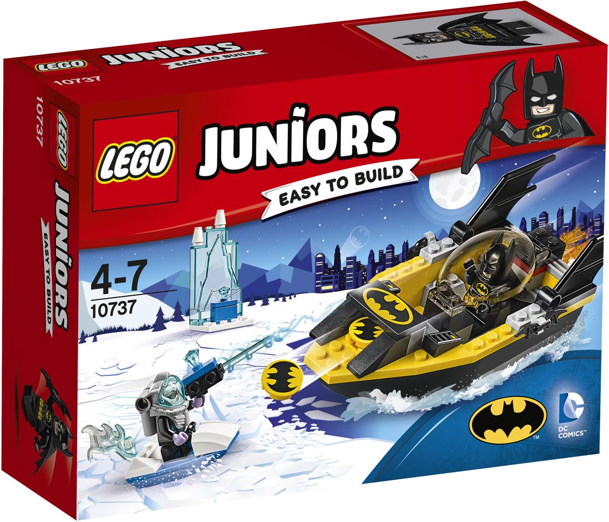 LEGO Juniors Конструктор Бэтмен против Мистера Фриза 10737 конструктор lego juniors ветеринарная клиника мии 10728