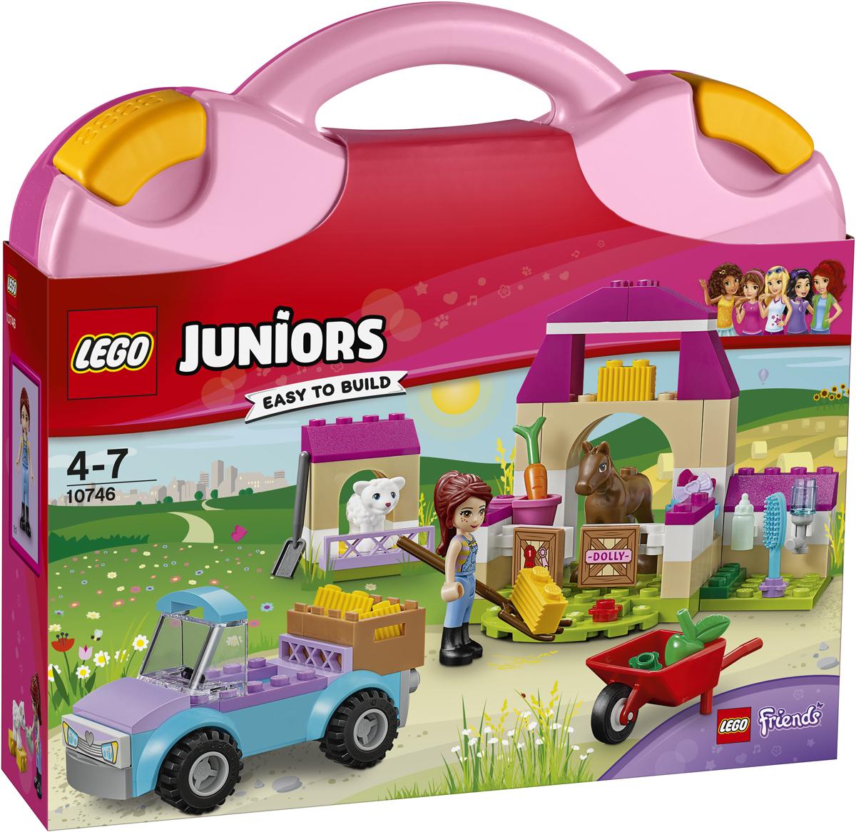 LEGO Juniors Конструктор Чемоданчик Ферма Мии 10746 конструктор lego juniors ветеринарная клиника мии 10728