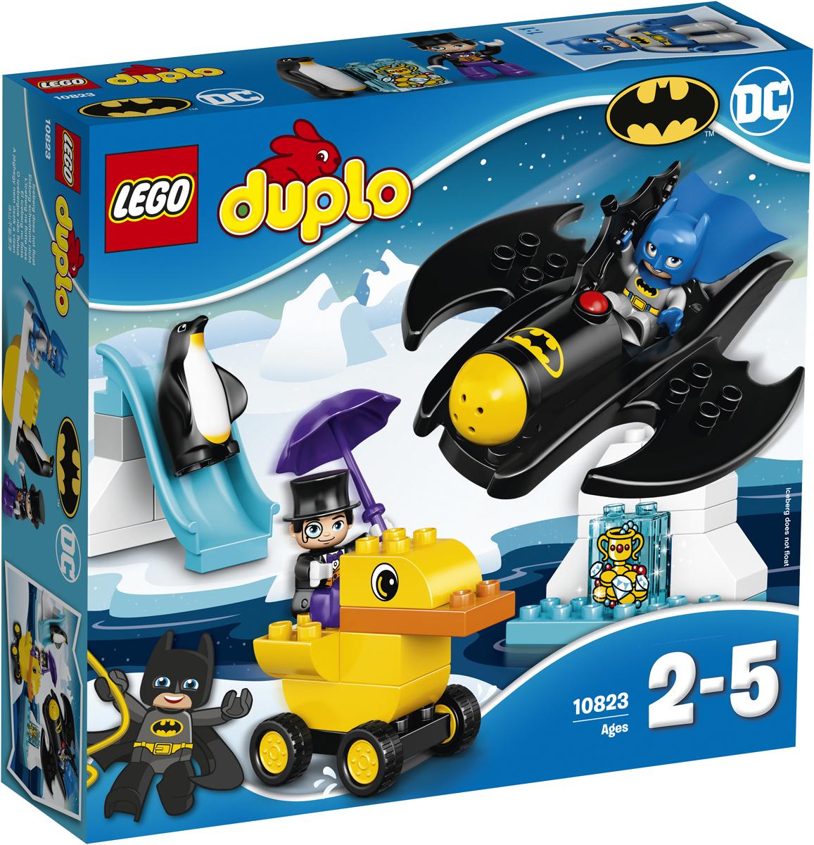 LEGO DUPLO Конструктор Приключения на Бэтмолете 10823