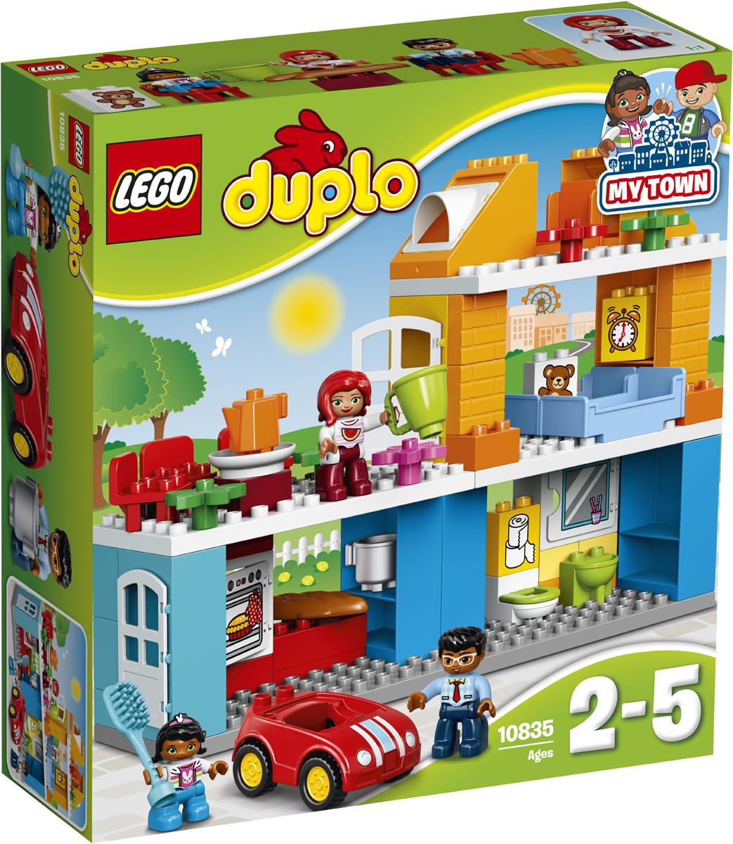 LEGO DUPLO Конструктор Семейный дом 10835 lego duplo конструктор гоночный автомобиль 10589