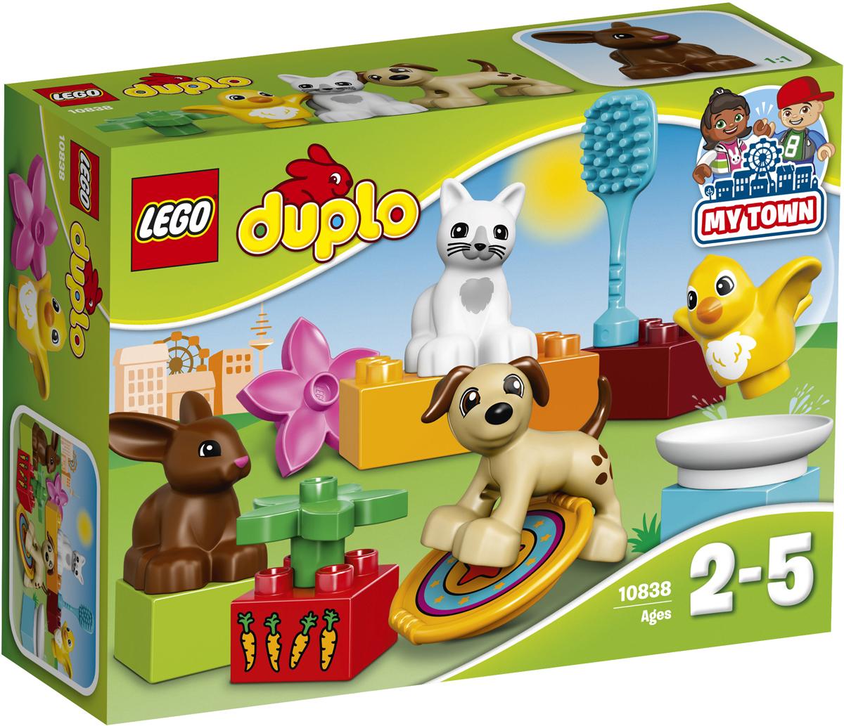 LEGO DUPLO Конструктор Домашние животные 10838 конструктор lego duplo лесной заповедник 10584