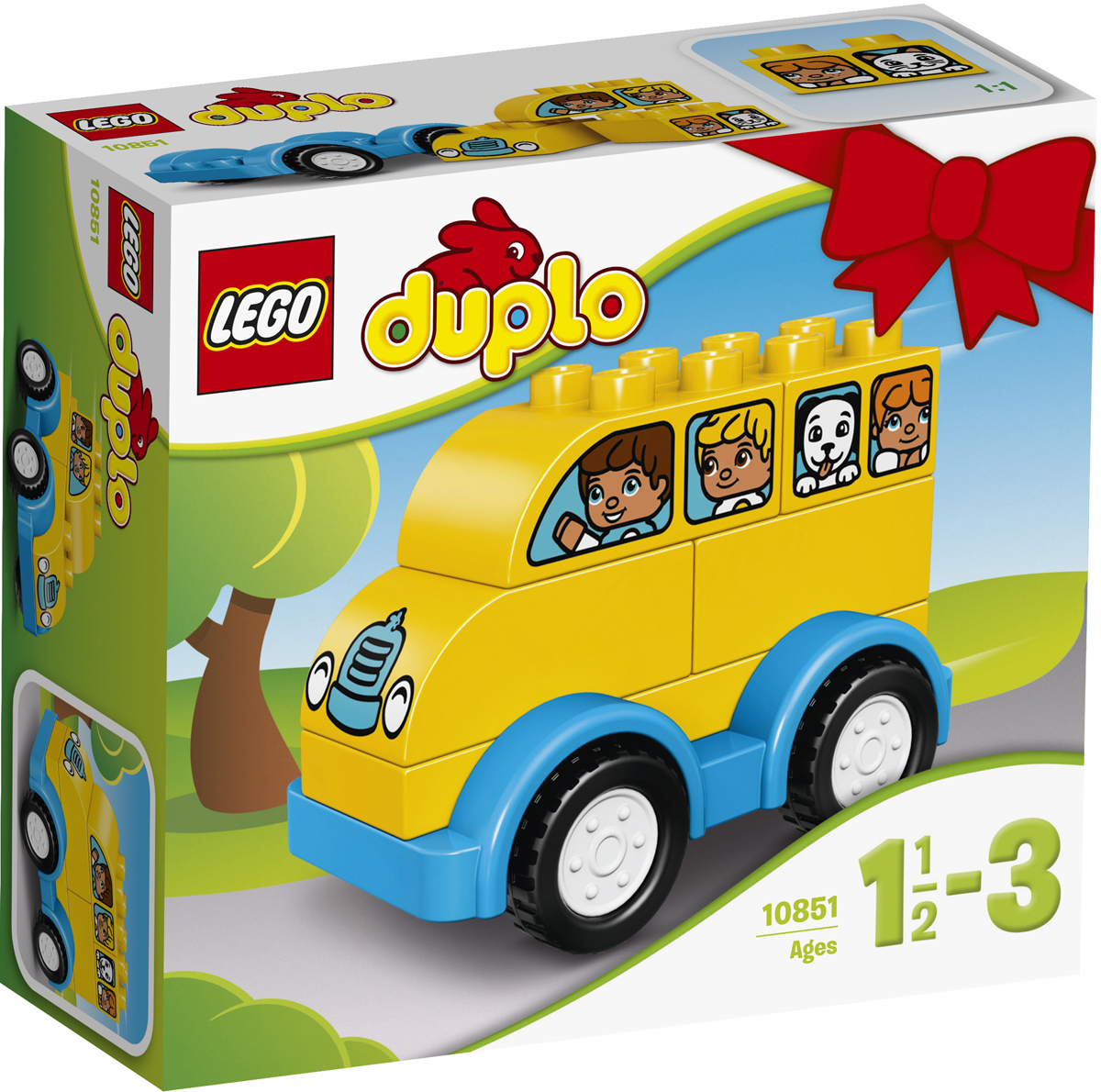 LEGO DUPLO Конструктор Мой первый автобус 10851 конструктор lego duplo лесной заповедник 10584