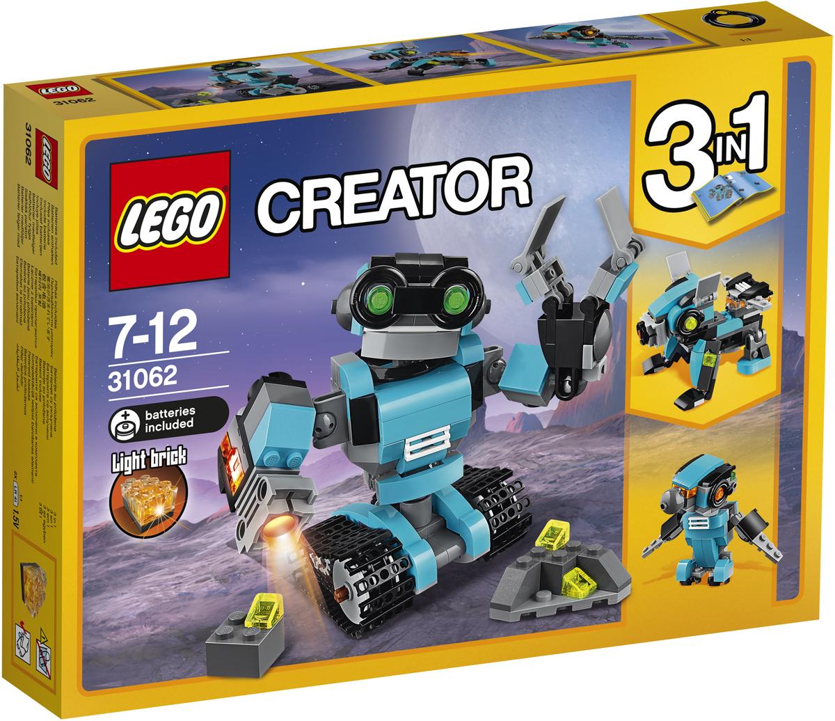 LEGO Creator Конструктор Робот-исследователь 31062 creator голубой экспресс