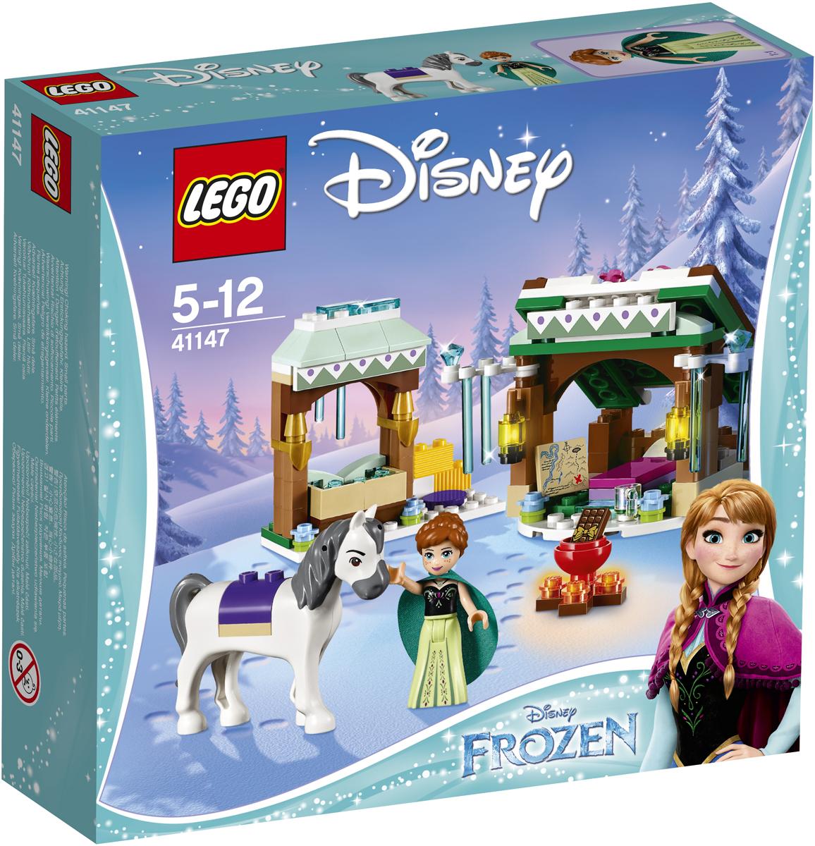 LEGO Disney Princess Конструктор Зимние приключения Анны 41147 lego lego disney princess 41066 анна и кристоф прогулка на санях