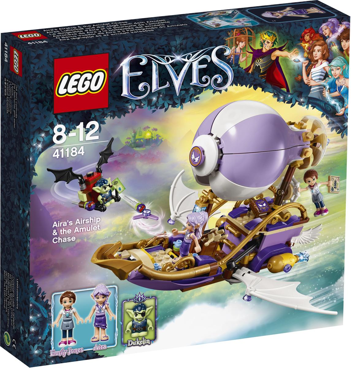 LEGO Elves Конструктор Погоня за амулетом 41184 конструктор lego elves встреча наиды с гоблином воришкой 41181