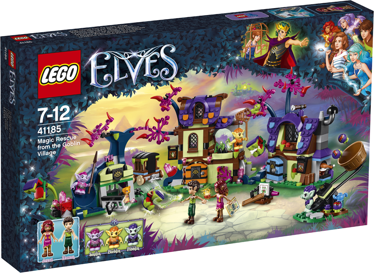 LEGO Elves Конструктор Побег из деревни гоблинов 41185 lego elves 41185 побег из деревни гоблинов