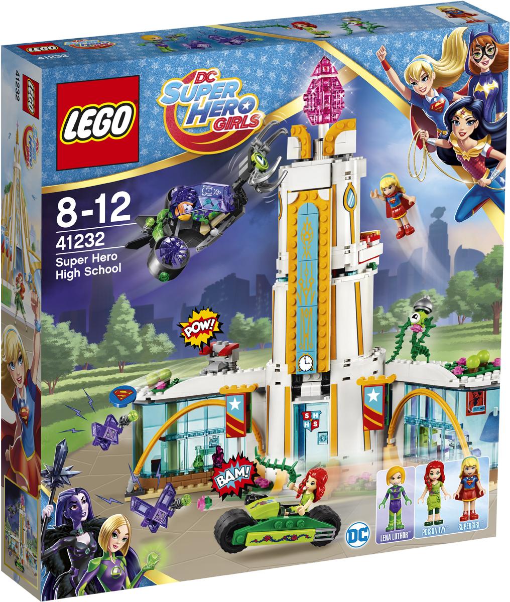 LEGO DC Super Hero Girls Конструктор Школа супергероев 41232