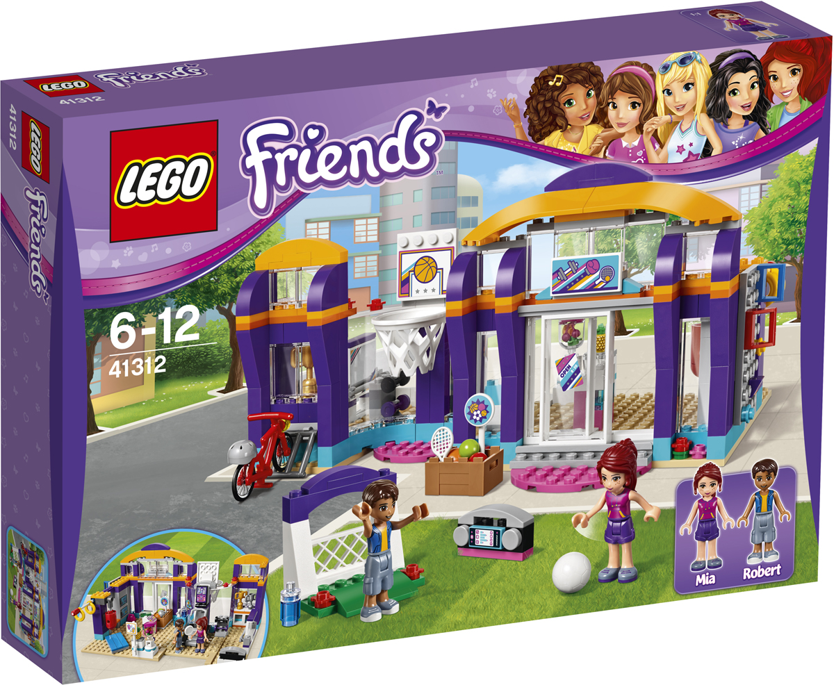 LEGO Friends Конструктор Спортивный центр 41312