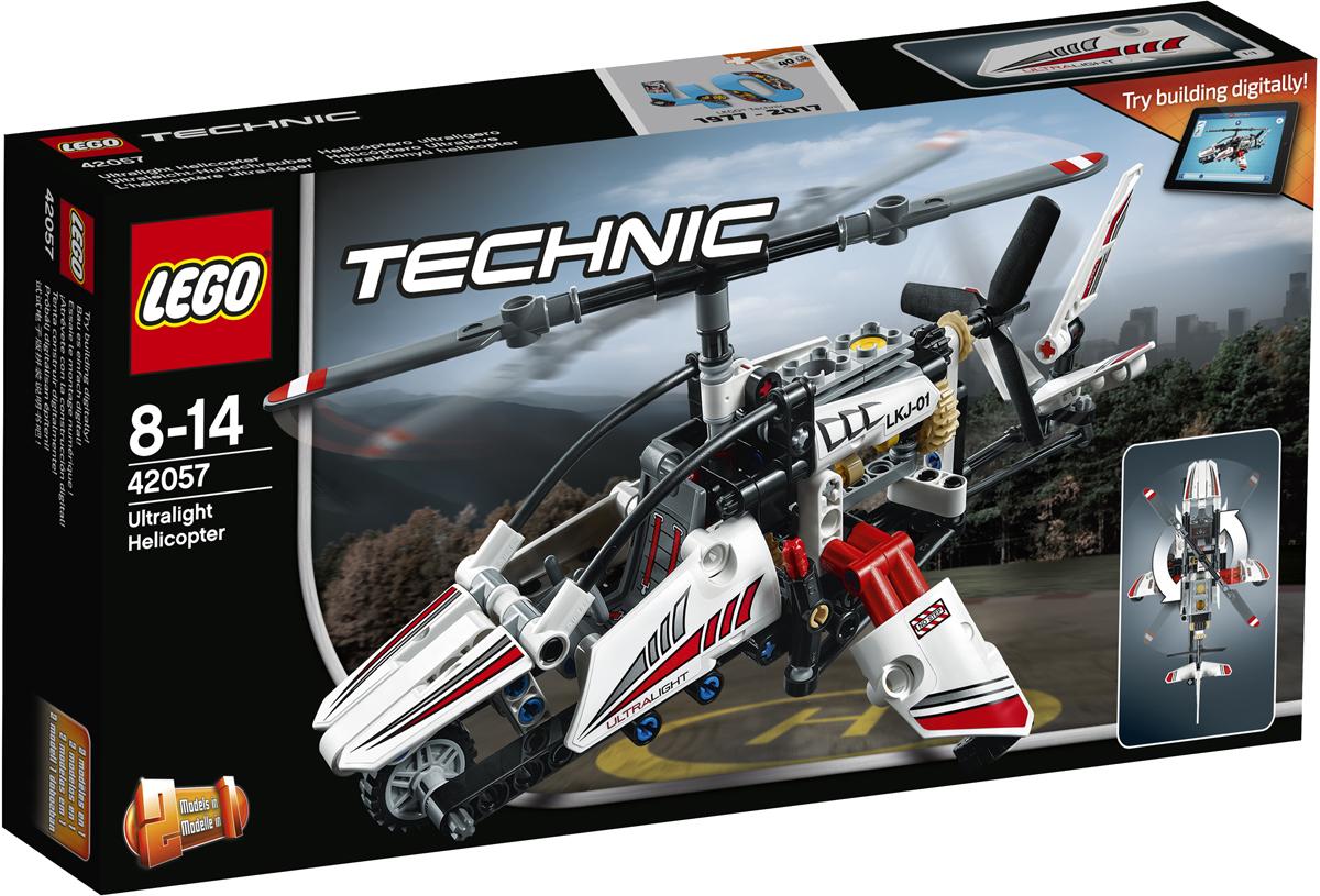 LEGO Technic Конструктор Сверхлегкий вертолет 42057 купить через интернет душевую кабину доставка по казахстану