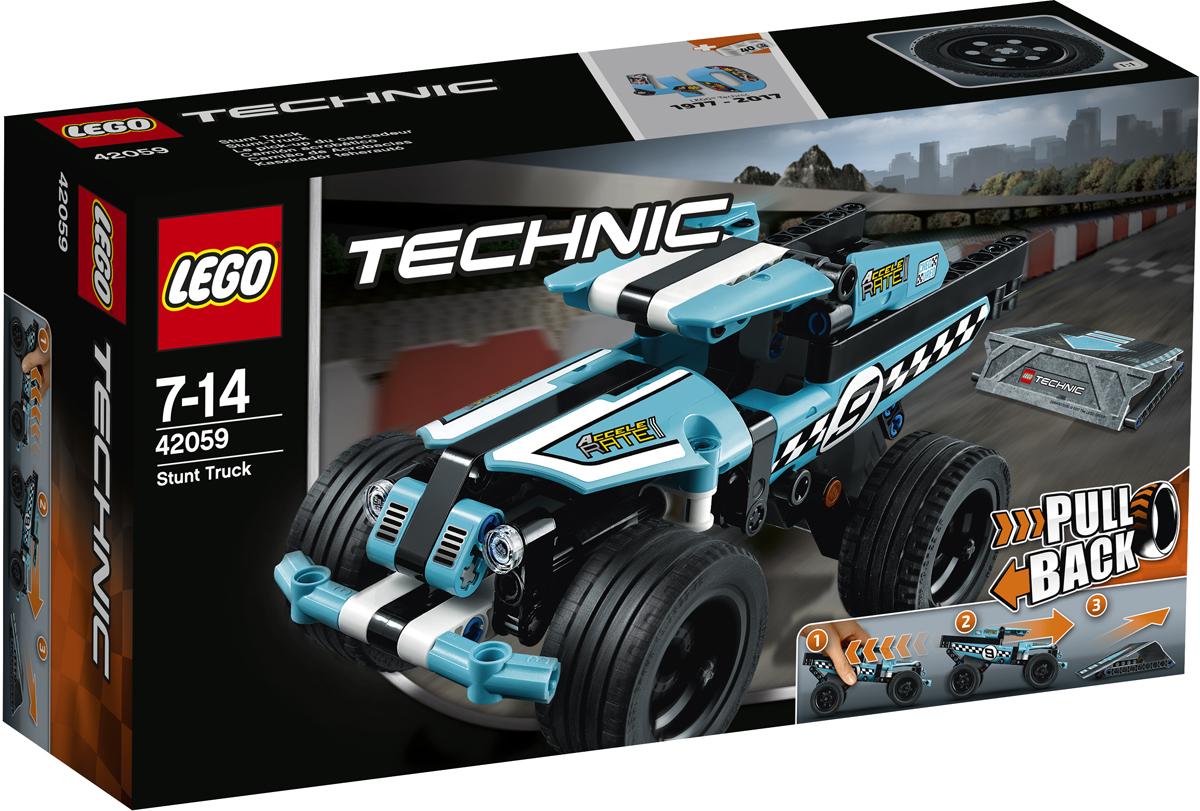 LEGO Technic Конструктор Трюковой грузовик 42059 lego technic 42031 ремонтный автокран