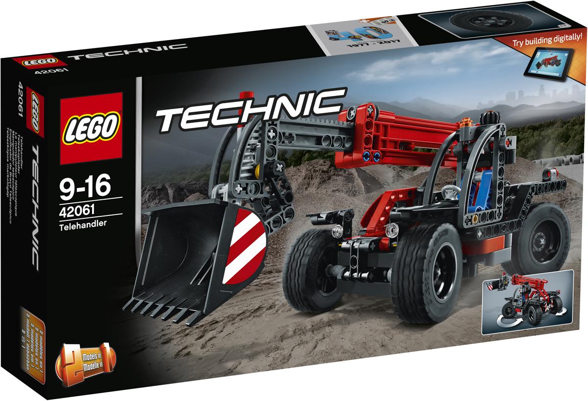 LEGO Technic Конструктор Телескопический погрузчик 42061 лего 42061 цена