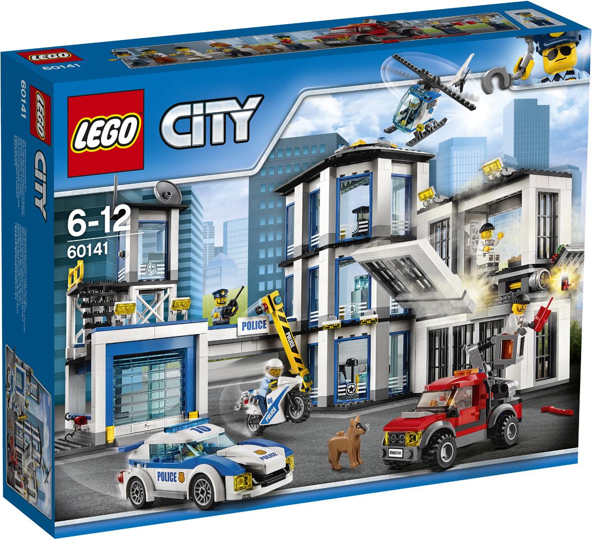 LEGO City Конструктор Полицейский участок 60141