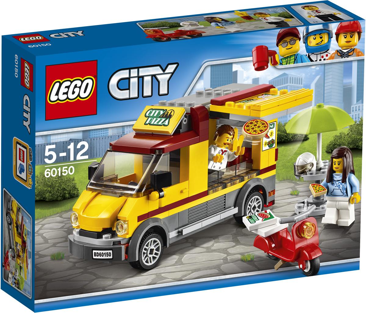 LEGO City Конструктор Фургон-пиццерия 60150