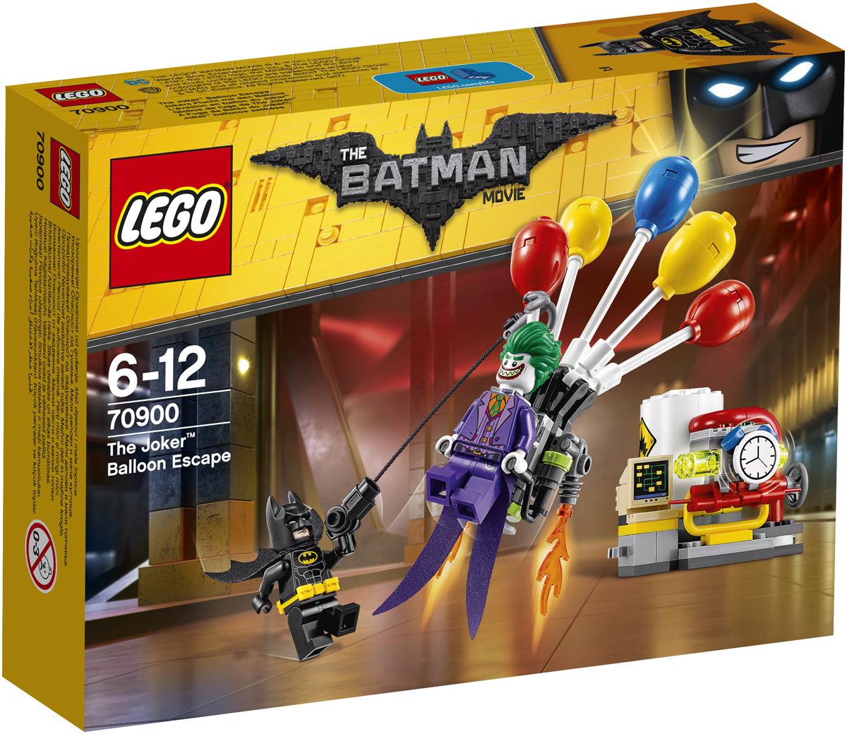 LEGO Batman Movie Конструктор Побег Джокера на воздушном шаре 70900 lego 70900 batman movie побег джокера на воздушном шаре