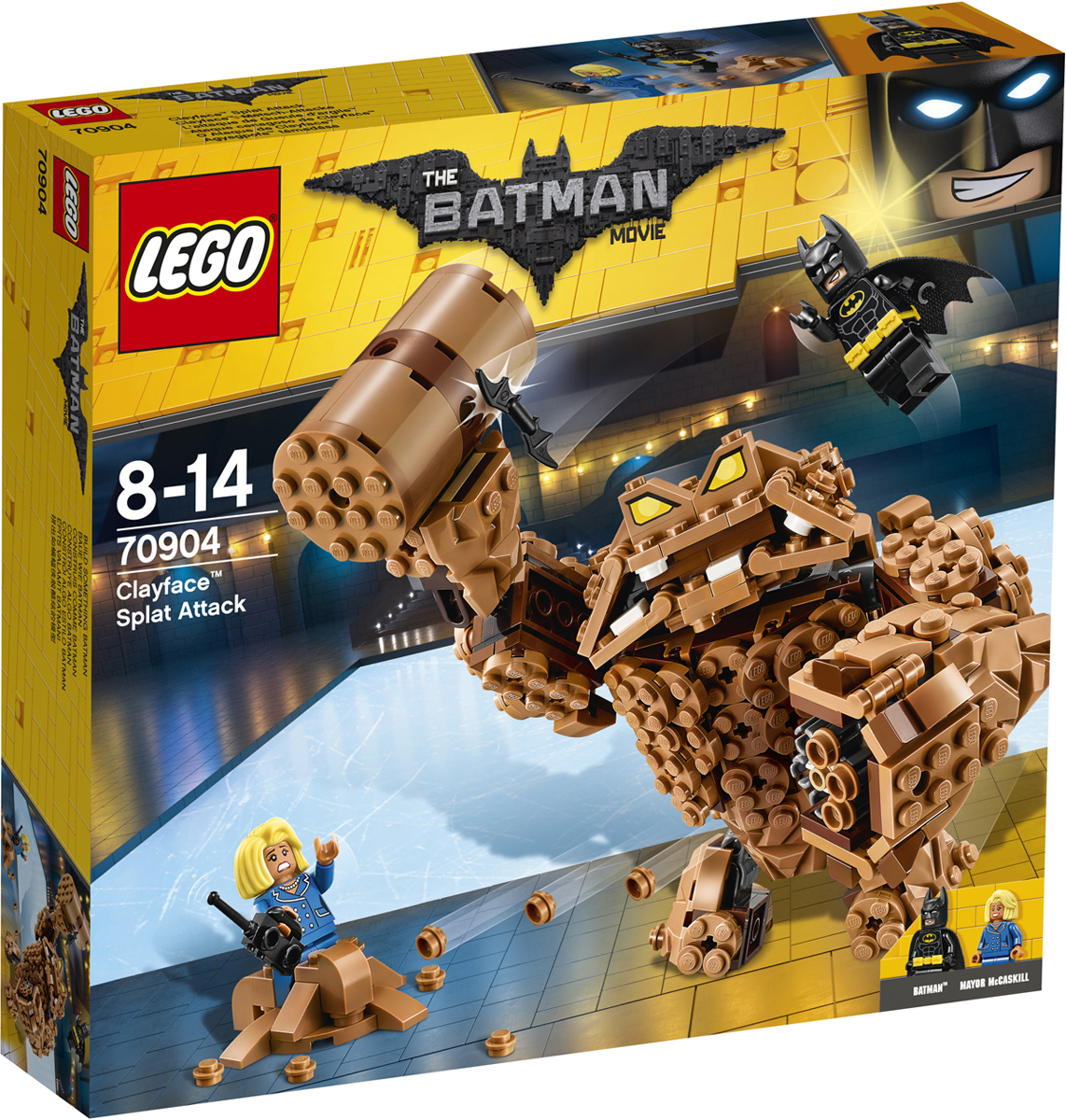 LEGO Batman Movie Конструктор Атака Глиноликого 70904 конструкторы lego lego атака глиноликого 70904 batman movie