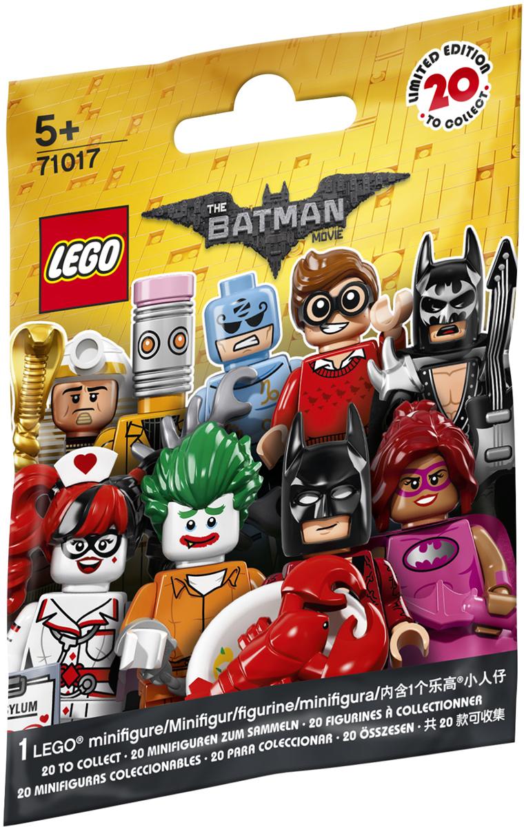 LEGO Minifigures Конструктор Минифигурки Лего Фильм Бэтмен 71017 купить лего в екатеринбурге в интернет
