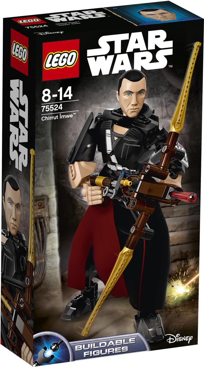LEGO Star Wars Фигурка-конструктор Чиррут Имве 75524 lego star wars фигурка конструктор финн 75116