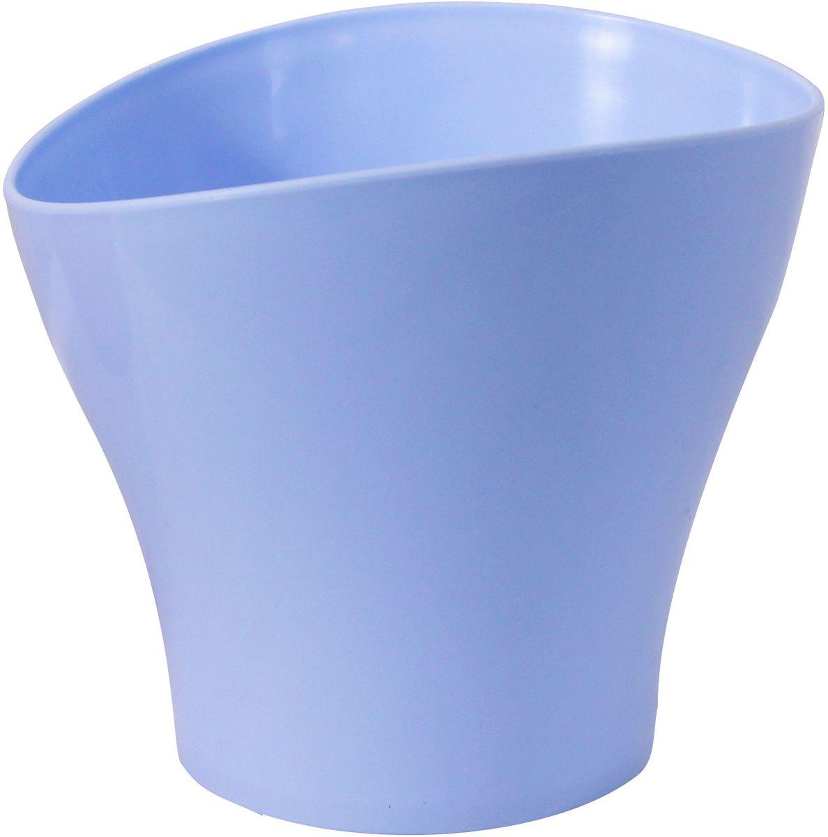 Кашпо Idea Волна, цвет: голубой, 800 млМ 3102Кашпо Idea Волна изготовлено из прочного полипропилена (пластика) и предназначено для выращивания растений, цветов и трав в домашних условиях. Такое кашпо порадует вас функциональностью, а благодаря лаконичному дизайну впишется в любой интерьер помещения. Объем кашпо: 0,8 л.