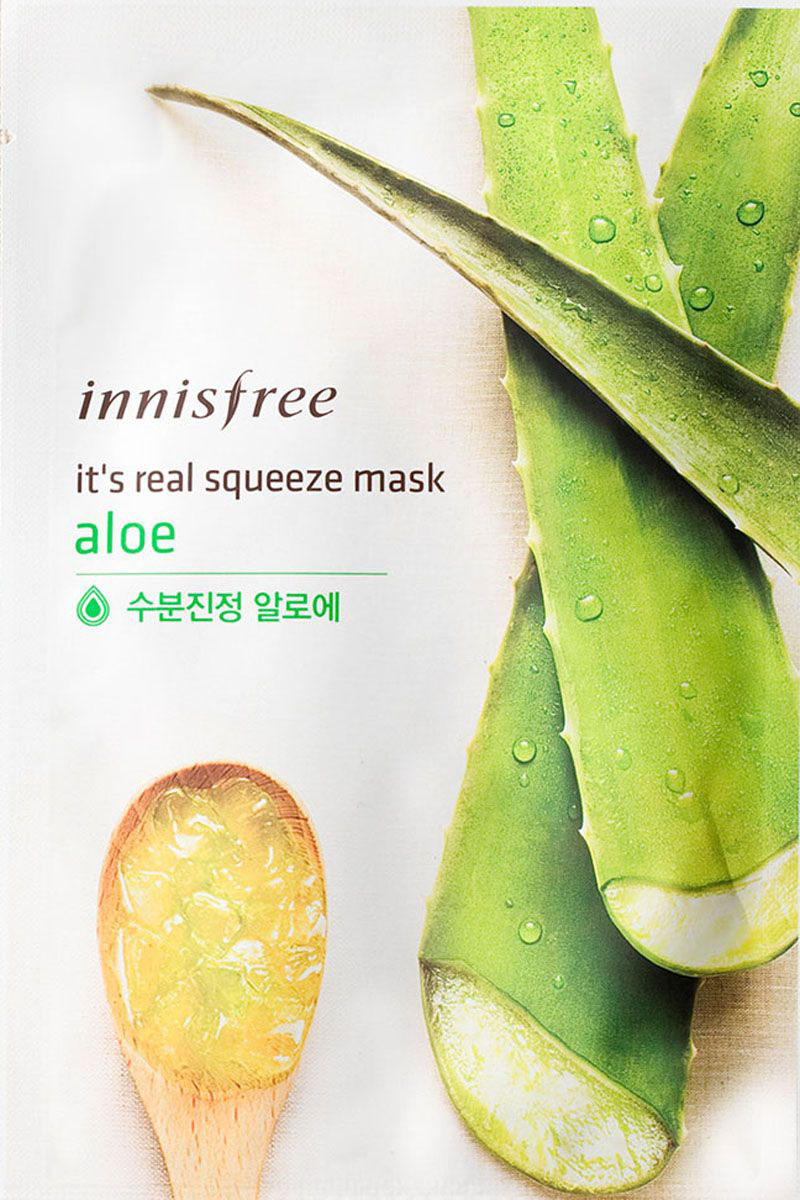 Innisfree It's Real Маска для лица с экстрактом алое, 20 мл innisfree pro94 112
