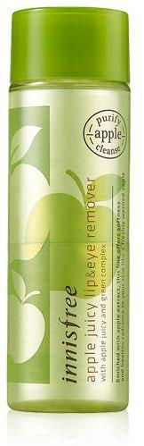 Innisfree Apple Seed Средство для снятия макияжа с экстрактом яблока, 100 млУТ-00000250Средство для снятия макияжа жидкой текстуры с экстрактом яблока изготовлено из органического сырья, освежает и тонизирует, делает вашу кожу гладкой. Снимает даже стойкий макияж. Эффективно удаляет омертвевшие клетки на поверхности кожи и открывает поры для эффективного и глубокого очищения.