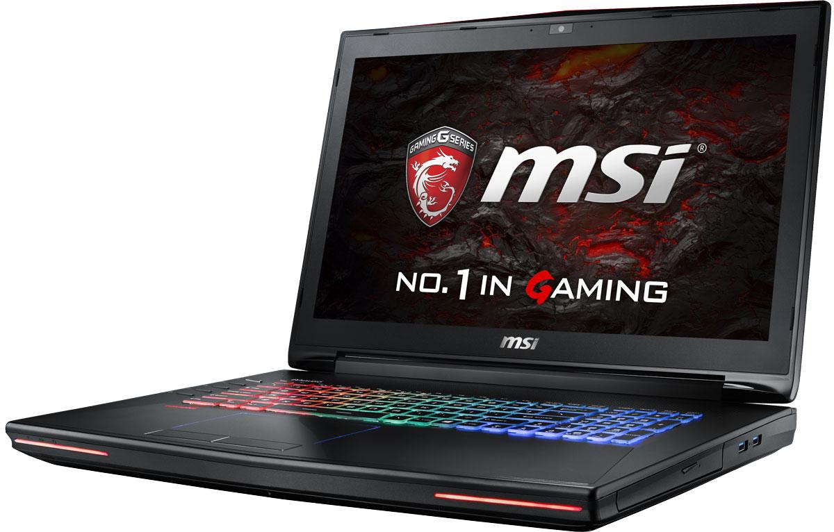 MSI GT72VR 6RE-404RU Dominator Pro, BlackGT72VR 6RE-404RUКомпания MSI создала первый в мире игровой ноутбук GT72VR с новейшим поколением графических карт NVIDIA GeForce GTX 10 Series. По ожиданиям экспертов производительность новой GeForce GTX 1070 должна более чем на 40% превысить показатели графических карт GeForce GTX 900M Series. Благодаря инновационной системе охлаждения Cooler Boost и специальным геймерским технологиям, применённым в игровом ноутбуке MSI GT72VR 6RE, графическая карта новейшего поколения NVIDIA GeForce GTX 1070 сможет продемонстрировать всю свою мощь без остатка.Олицетворяя концепцию Один клик до VR и предлагая полное погружение в игровые вселенные с идеально плавным геймплеем, игровой ноутбук MSI GT72VR разбивает устоявшиеся стереотипы об исключительной производительности десктопов. Ноутбук MSI готов поразить любого геймера, заставив взглянуть на мобильные игровые системы по-новому.Ноутбук MSI GT72VR оснащен процессором 6-го поколения Intel i7-6700HQ Skylake. По сравнению с предыдущими поколениями новейшие процессоры обладают сниженным энергопотреблением при повышенной производительности. Скорость i7-6700HQ по сравнению с i7-4720HQ выросла на 20%.Вы сможете достичь максимально возможной производительности вашего ноутбука благодаря поддержке оперативной памяти DDR4, отличающейся скоростью чтения более 32 Гбайт/с и скоростью записи 36 Гбайт/с. Возросшая на 40% производительность памяти DDR4 (по сравнению с предыдущим поколением - DDR3-1600) - это новый стандарт памяти для экстремальных ноутбуков, который поднимет ваши впечатления от современных и будущих игровых шедевров на совершенно новый уровень.Включайтесь в игру раньше, чем кто-либо войдёт в неё, благодаря новому накопителю M.2 SSD, использующему высочайшую пропускную способность шины PCI-E Gen 3.0 x4 и технологию NVMe. Аппаратная и программная оптимизация позволила раскрыть весь потенциал новейших Gen 3.0 SSD-накопителей, а именно их экстремальную скорость чтения 2200 Мбайт/с, что в 5 раз 