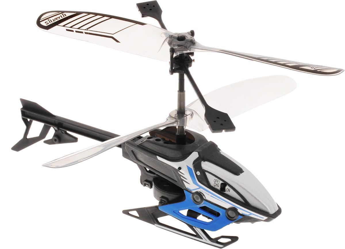 Silverlit Вертолет на инфракрасном управлении Alpha Y цвет черный синий вертолет sky dragon silverlit