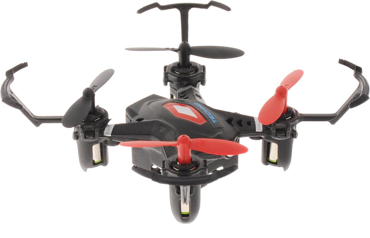 1TOY Квадрокоптер на радиоуправлении Gyro-Techno цвет черный