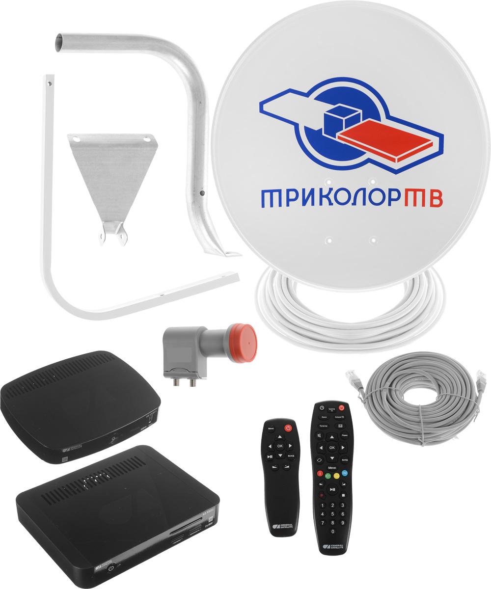Триколор Full HD GS E501 + GS C5911 комплект спутникового телевидения - Антенны