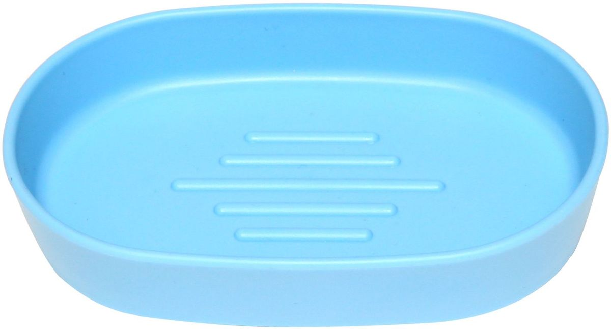 Мыльница Proffi Home, цвет: голубой, 13 х 8,5 х 3 см