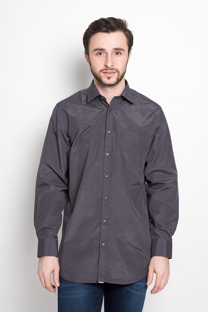Рубашка мужская Imperator, цвет: темно-серый. Shambala 2. Размер 44-178/186 (56-178/186)