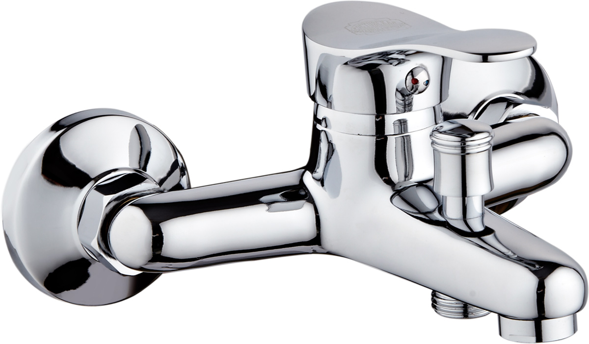 Смеситель для ванны РМС, с коротким литым изливом, цвет: хром. SL86-009SL86-009Смеситель для ванны РМС выполнен из высококачественной латуни с хромированным покрытием. Предназначен для смешивания холодной и горячей воды, устанавливается в ванну. Смеситель имеет штоковый переключатель воды ванна/душ, короткий излив и пластиковый аэратор. Длина шланга для душа: 1,5 м. Максимальное давление: 10 бар.Испытательное давление: 16 бар.Рекомендуемое давление: 1-5 бар, при давлении выше 6 бар рекомендуется использовать регулятор давления.Максимально допустимая температура: +80°С.Рекомендуемая температура: +65°С.Кран-букса керамическая: 1/2.Размер картриджа: 35 мм.