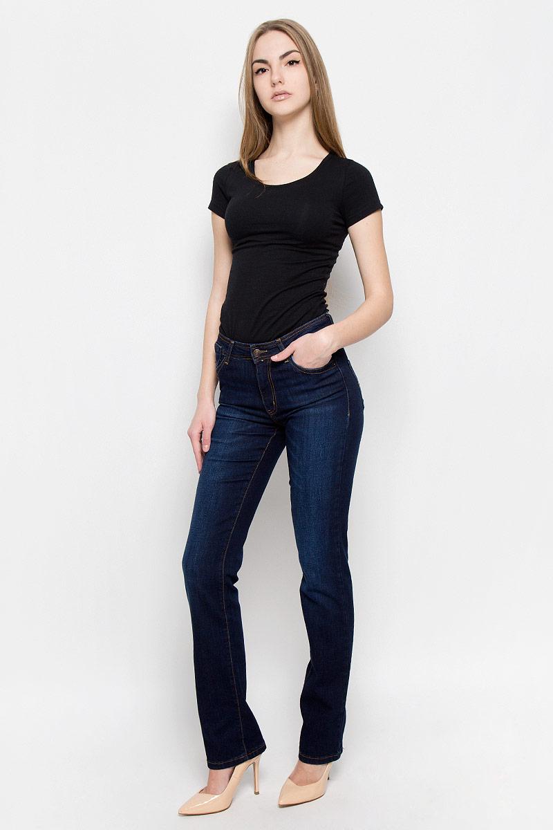 Джинсы женские F5, цвет: синий. 1943/N_w.dark. Размер 26-34 (42-34) джинсы женские f5 цвет синий 19202 размер 31 34 46 48 34