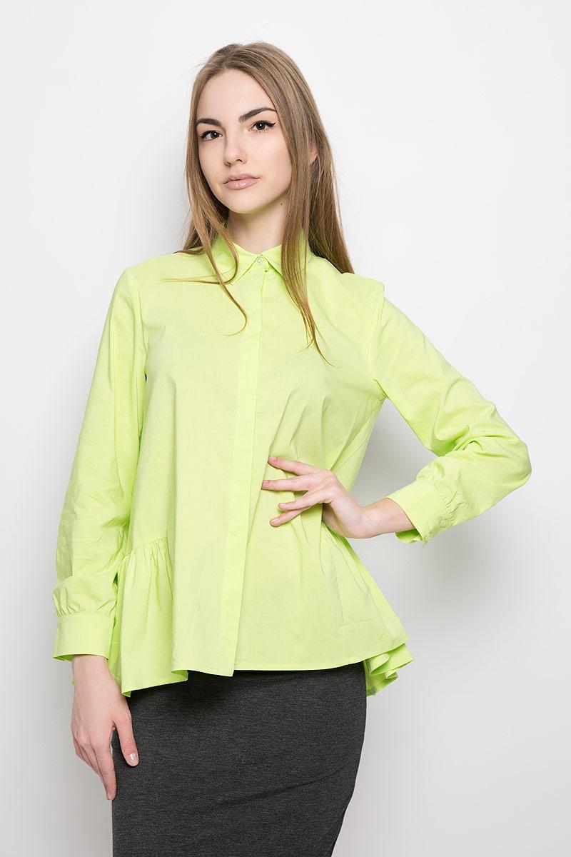 Блузка женская Ruxara, цвет: салатовый. 1201541. Размер 48 блуза ruxara ruxara mp002xw0zzjf