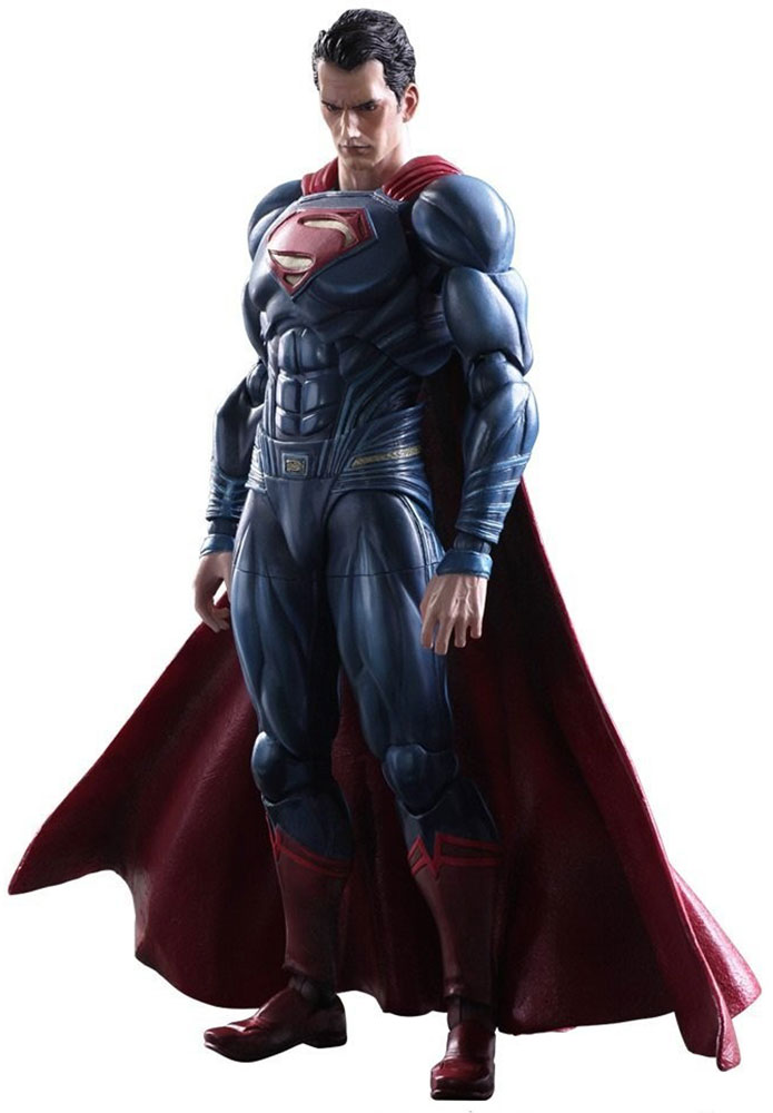 Batman v Superman: Dawn Of Justice. Фигурка Play Arts Kai Superman 27 см huong movie 30cm batman v superman dawn of justice the dark night batman armored blinde pvc figure collectible model toys