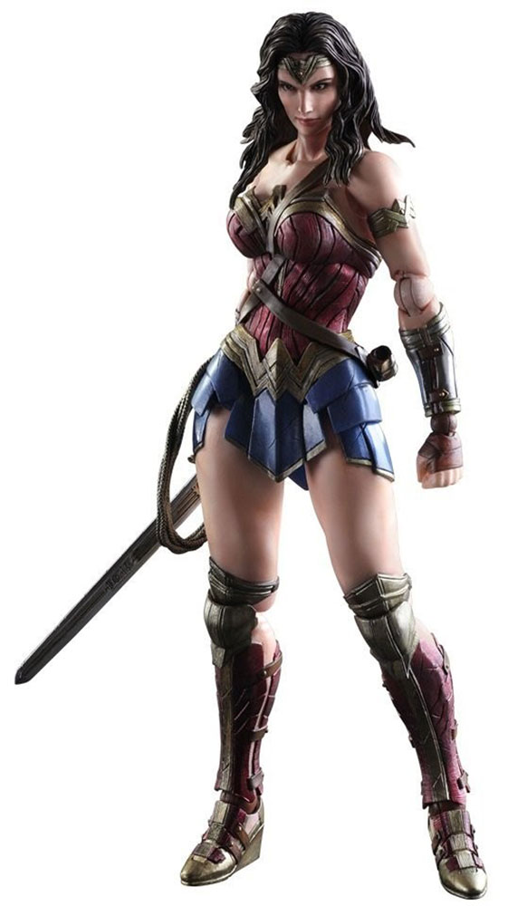Batman v Superman: Dawn Of Justice. Фигурка Play Arts Kai Wonder Woman 27 см