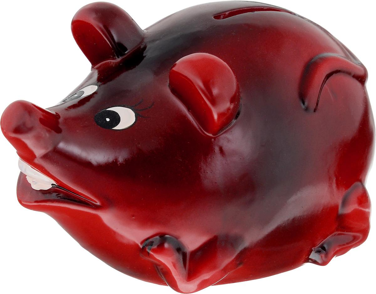 Копилка Lovemark Мышка, цвет: красныйMS4786_красныйКопилка Lovemark Мышка, изготовленная из керамики, станет отличным украшением интерьера вашего дома или офиса. Изделие оснащено отверстием для монет и удобным клапаном на дне, через который можно достать деньги.Яркий оригинальный дизайн сделает такую копилку прекрасным подарком. Она послужит не только по своему прямому назначению, но и красиво дополнит интерьер комнаты.Размер изделия: 14 х 9 х 10 см.