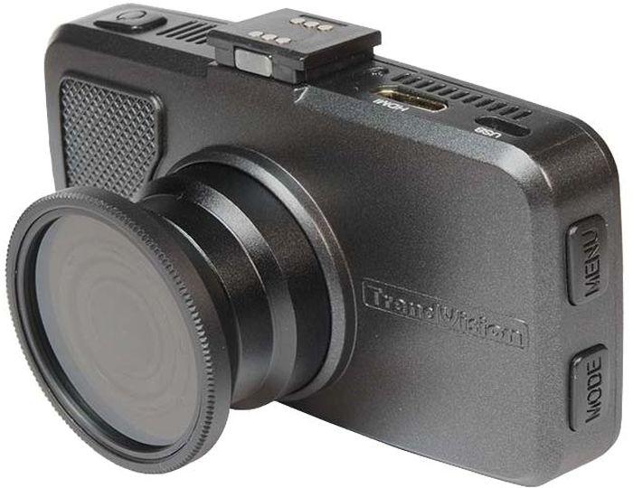 TrendVision TDR-718GP, Black видеорегистратор купить trendvision tdr 200