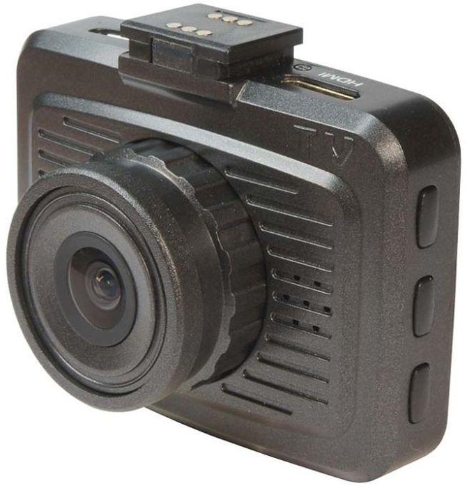 TrendVision TDR-200, Black видеорегистраторTDR-200Автомобильный видеорегистратор TrendVision TDR-200 имеет миниатюрный корпус, и оригинальную систему крепления и питания. Разъем питания находится не в регистраторе, а в миниатюрном кронштейне. Причем разъемы есть и с правой, и с левой стороны. Кронштейн и регистратор имеют группу контактов, через которые передается питание.С учетом магнитного крепления и питания через кронштейн, установка/снятие регистратора занимает мгновения и производится одной рукой. А миниатюрные размеры и отсутствие питающего кабеля позволяют достаточно скрытно разместить видеорегистратор за шелкографией или за тонировочной полосой вверху лобового стекла.Еще одна особенность TrendVision TDR-200 - наличие 2-х слотов под карты памяти microSD, поддержка карт 128 ГБ. Причем осуществляется последовательная перезапись. При заполнении одной карты памяти, запись переключается на другую. Таким образом, при использовании 2-х карт 128 ГБ, можно получить архив около 48 часов высококачественного видео.Большой монитор 2 и аккумуляторная батарея, позволяют производить видеозапись вне автомобиля. Например, заснять место ДТП.Формат записи видео: MOVПроцессор: AIT 8427, AlphaImaging TechnologyОперативная память: 1 ГБNAND память: 64 МБ