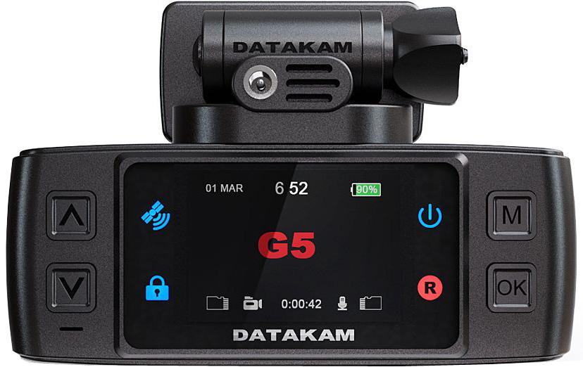 Datakam G5-Real Max BF, Black видеорегистраторG5-Real Max BF
