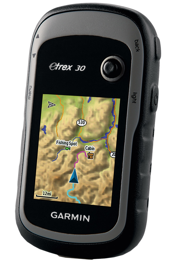Garmin eTrex30, Grey Black навигаторeTrex30x