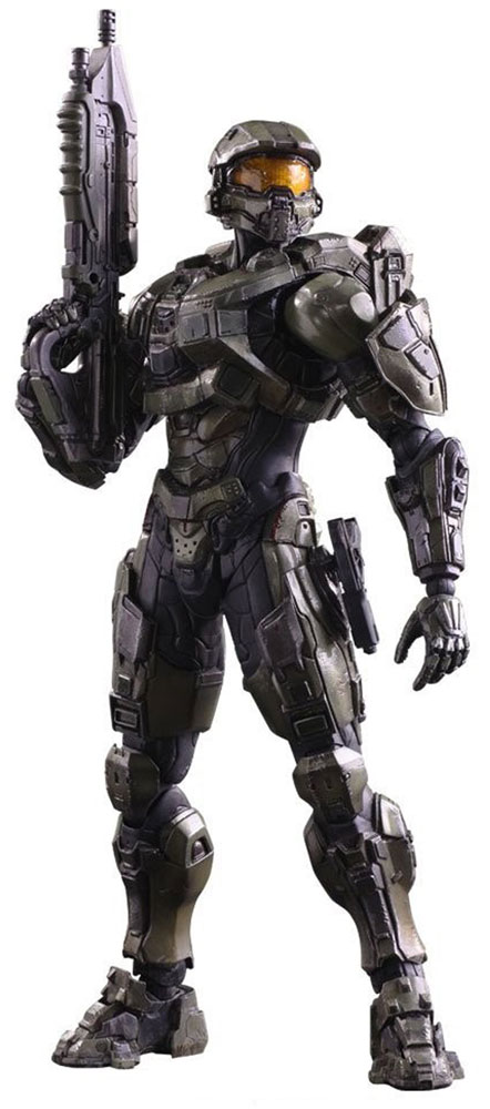 Halo 5 Guardians. Фигурка Play Arts Kai Master Chief 27 см