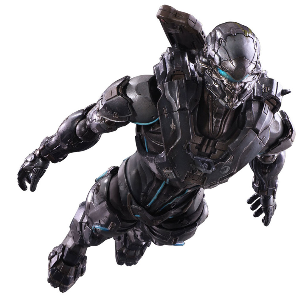 Halo 5 Guardians. Фигурка Play Arts Kai Spartan Locke 27 см halo 5 guardians play arts reform master chief action figure