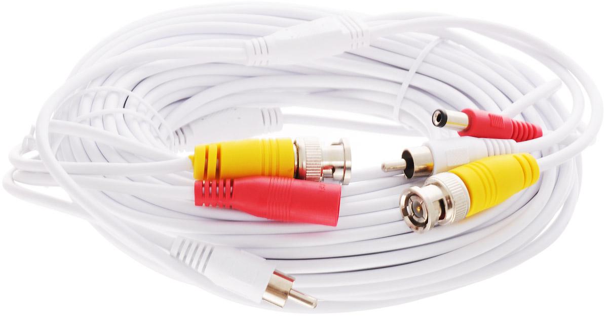 iVue CPVA20-AHD кабель для камер видеонаблюдения (20 м) ivue d5004 ahc d4 для дома и офиса 4 4 комплект видеонаблюдения