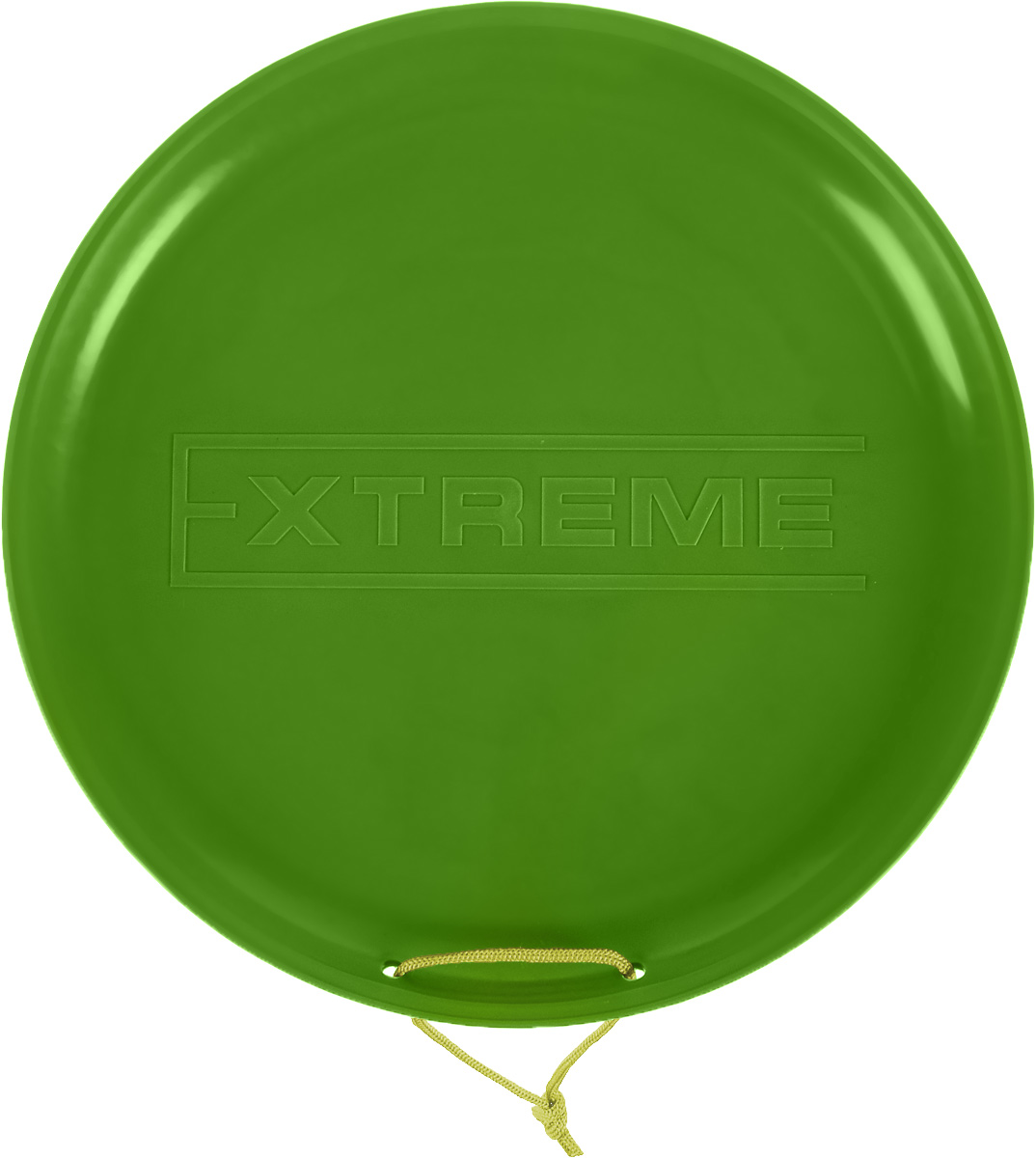 "Фото Санки-ледянки Престиж ""Экстрим"", цвет: зеленый, диаметр 40 см"