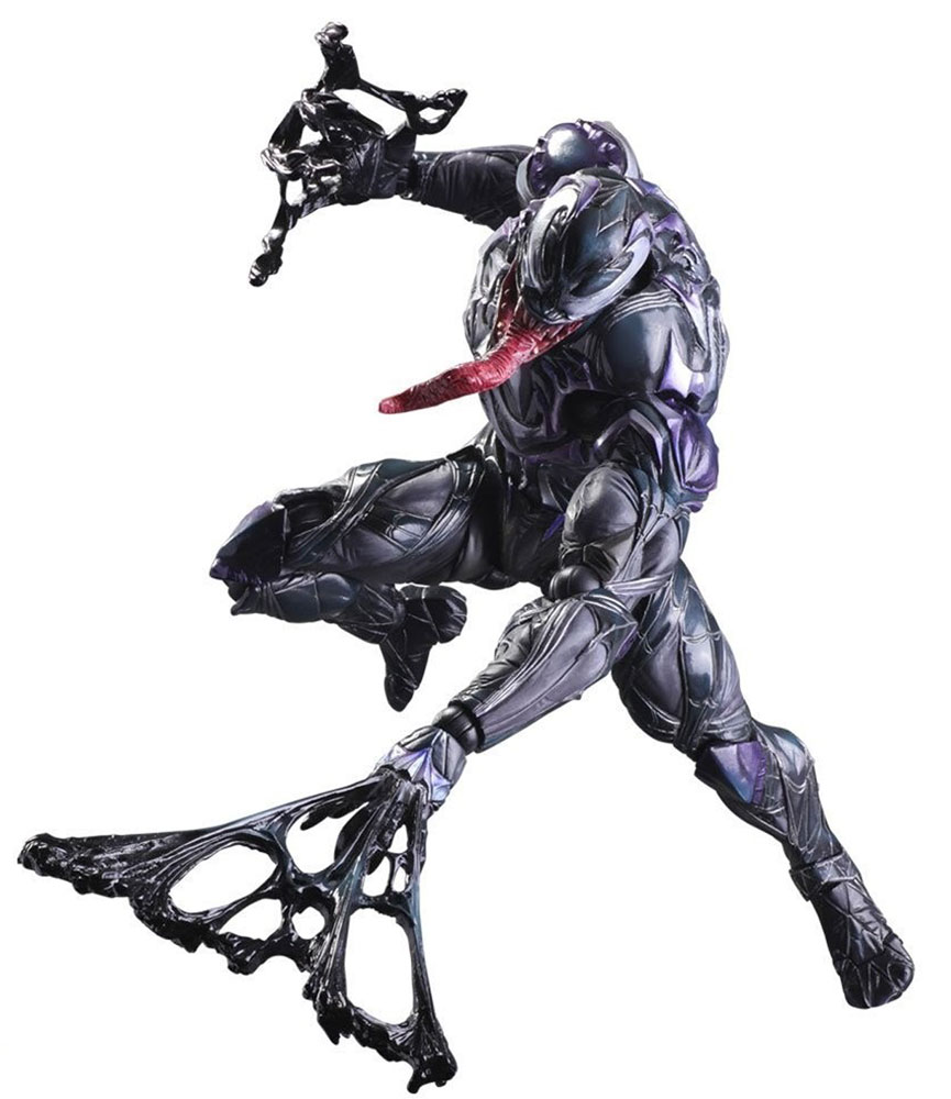 Marvel Universe. Фигурка Variant Play Arts Kai Venom 27 см halo 5 guardians фигурка play arts kai spartan locke 27 см
