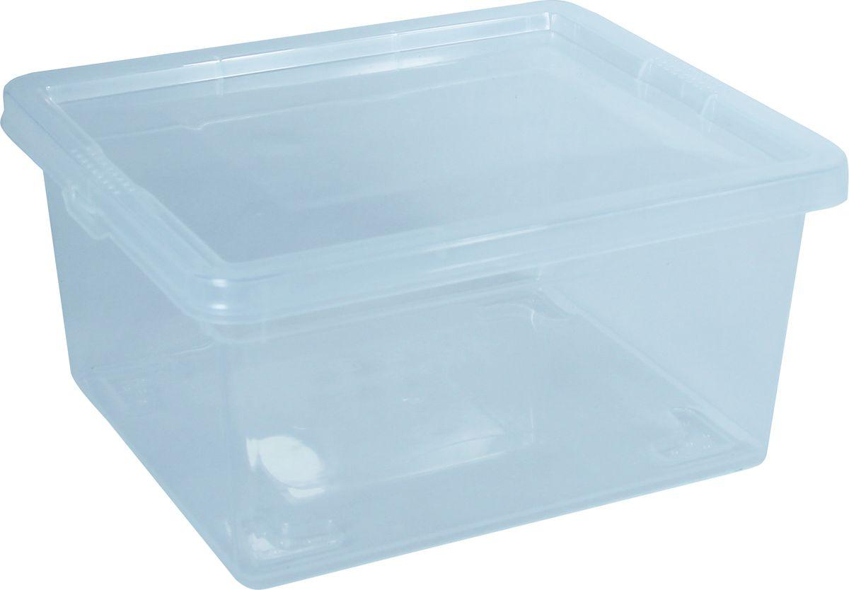 """Контейнер для хранения """"Idea"""" выполнен из высококачественного пластика. Изделие оснащено двумя пластиковыми фиксаторами по бокам, придающими дополнительную надежность закрывания крышки. Вместительный контейнер позволит сохранить различные нужные вещи в порядке, а крышка предотвратит случайное открывание, защитит содержимое от пыли и грязи.Объем: 2 л."""